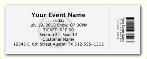 Ticket Design Template Invitation Template Ticket Design Template