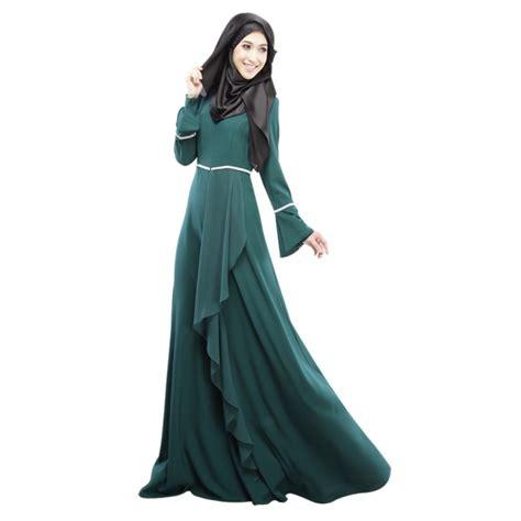 Kaftan Muslim Gamis Tunik Muslimah Muslim Maxi Abaya kaftan abaya jilbab islamic muslim sleeve