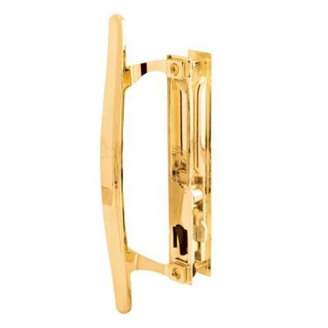 prime line brass plated flush mounted sliding patio door