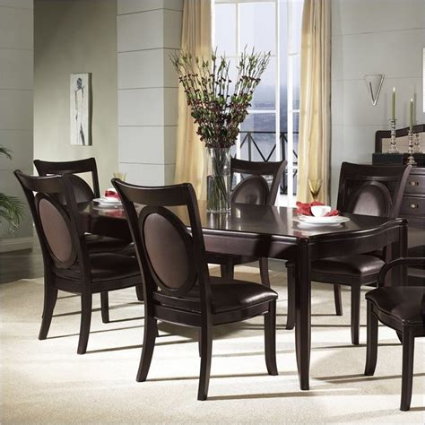 9 piece dining room table sets somerton signature rectangular table 9 piece dining set contemporary dining sets other