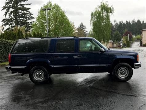 car engine manuals 1994 gmc suburban 2500 seat position control 1994 gmc suburban 4x4 sle 2500 3 4ton 7 4l 454 v8 eng 87k miles 1owner 160 pic