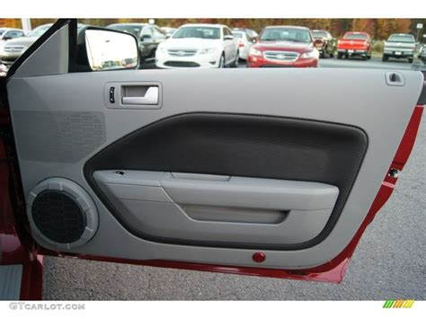 2009 mustang interior door panel 2009 ford mustang gt cs california special coupe door