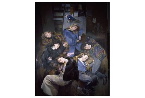 Two Tales Sleepers In The Cave Two Gardens Favourite Tales From the painter with observations on the theme of the robert lenkiewicz paintings