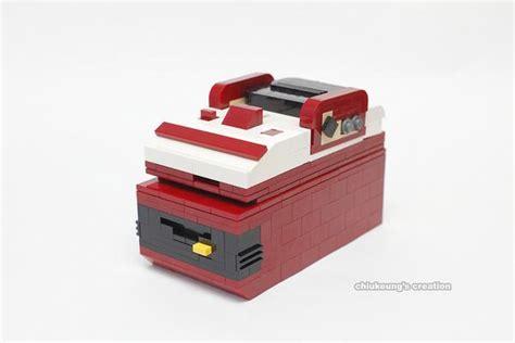 sizing up the famicom mini the famicom built with lego bricks gadgetsin