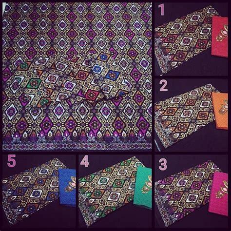 Batik Prada Songket Dan Embos kain batik pekalongan motif songket kombinasi kain embos