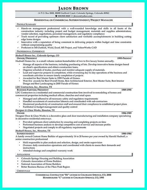 Construction Resume Database by Construction Manager Resume Sles Visualcv Resume