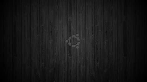 ubuntu black hd wallpaper ubuntu wallpaper dark wood by mokkujin on deviantart