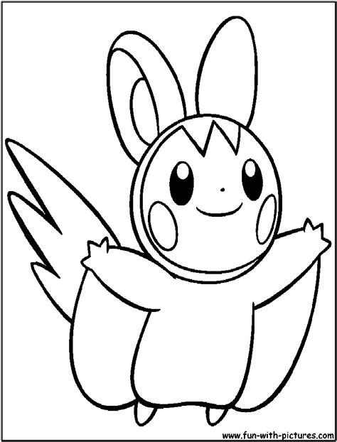 pokemon coloring pages emolga free coloring pages of emolga pokemon