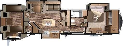 open range 5th wheel floor plans 2016 open range 3x fifth wheels 3x427bhs by highland ridge rv