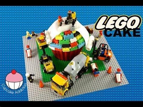 tutorial lego friends lego cake how to make a lego construction cake a