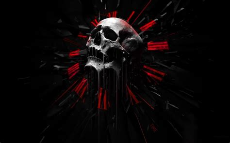 wallpaper black skull red and black skull wallpapers 44 wallpapers adorable