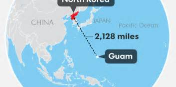 Guam Map World by Guam Under The Gun From North Korea What We Know Now