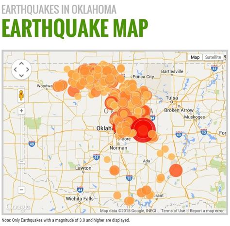earthquake oklahoma oklahoma earthquake fracking map wisconsin map