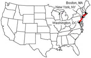 distance new york to boston by car route map