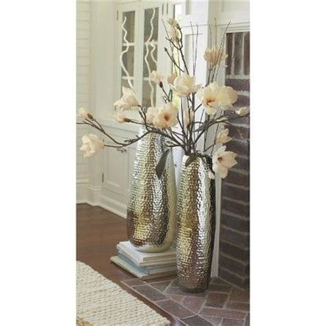 metal floor vase for sticks 30 35 target threshold hammered metal floor vase