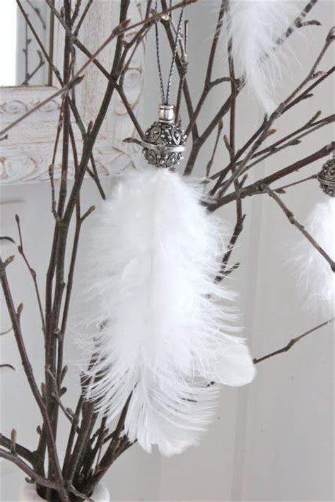 white ostrich feather tassel or could use this idea for