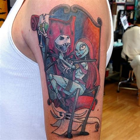 cartoon couple tattoos awesome images part 14 tattooimages biz