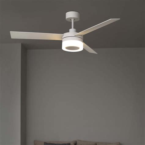 modern white ceiling fan with light modern wood ceiling fan with light cl 34866 e2 contract