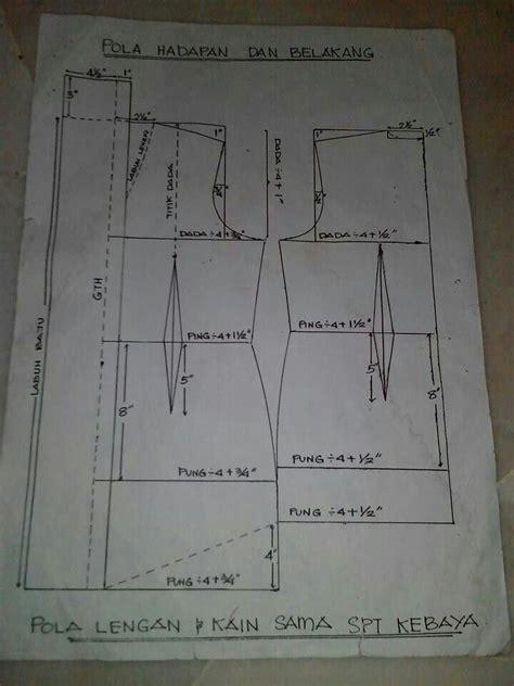 pattern dress labuh pola kebaya kelepet sewing project kebaya related