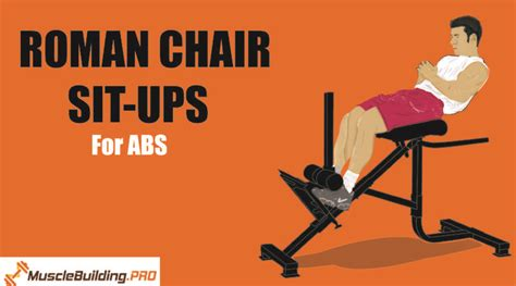 chair sit ups bodybuilding workouts archives musclebuilding pro