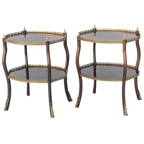 accent tables sale pair of rosewood accent tables 19th century for sale at