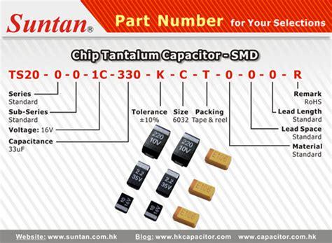 smd tantalum capacitor code tantalum capacitors