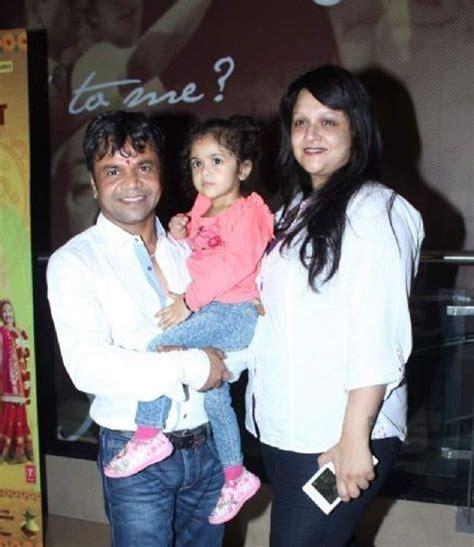 Rajpal Yadav with his wife Radha - Bollywood Tabloid ...