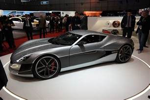 Concept One Electric Car Price Rimac Concept One