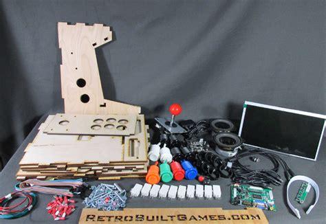 pi arcade kit diy arcade kits more porta pi arcade 10 quot hd