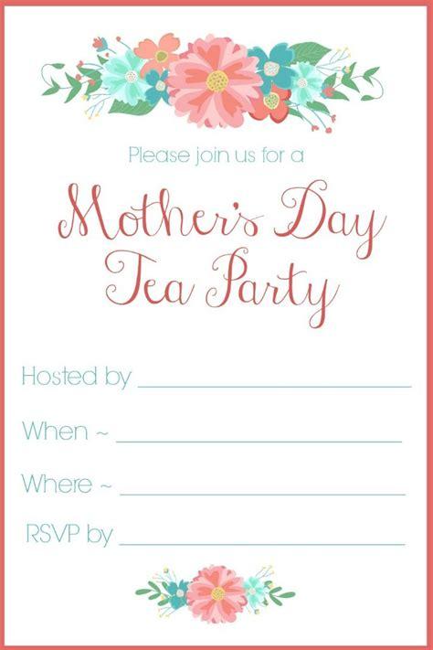 tea party birthday invitations little girl tea party invitations