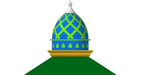 gambar desain konstruksi atap miring limasan kubah masjid gresik cerme indah kontraktor kubah