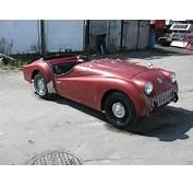1958 Triumph TR3A Project Car For Sale