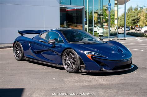 New Mclaren P1 In Custom Blue Shade Arrives In San