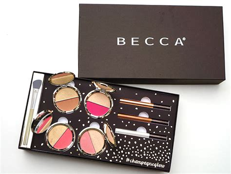 Becca Jacklyn Hill Chane Split Prosecco Pop Ple Mousse becca x hill chagne collection pretty connected