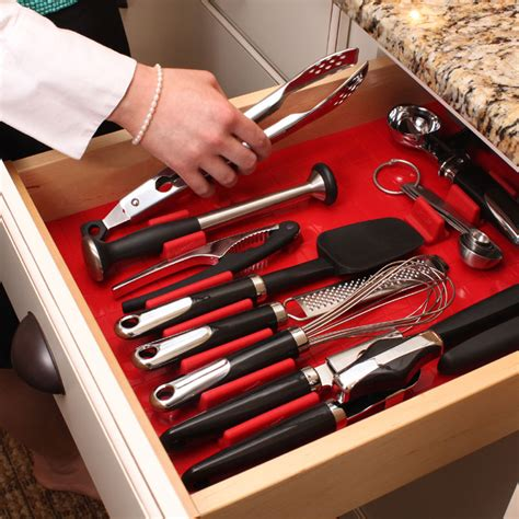 tool cabinet drawer organizers tool drawer liner and toolbox organizer system in tool storage
