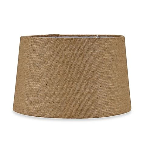large burlap l shade mix match large 16 inch hardback burlap drum l shade