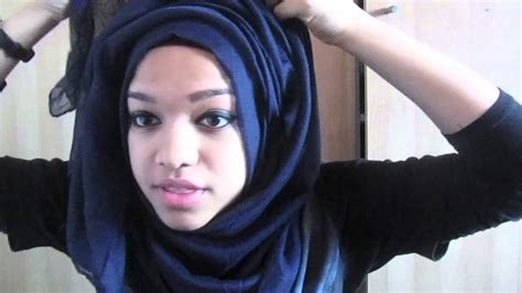 hijab style tutorial video