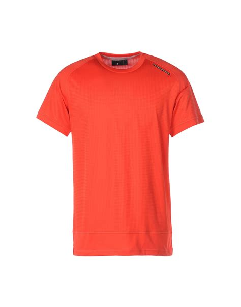 design t shirt adidas porsche design sport by adidas t shirt in pink for men