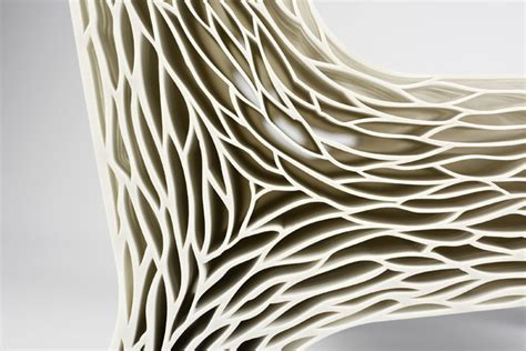 Inspired Home Interiors biomimicry 3d printed soft seat