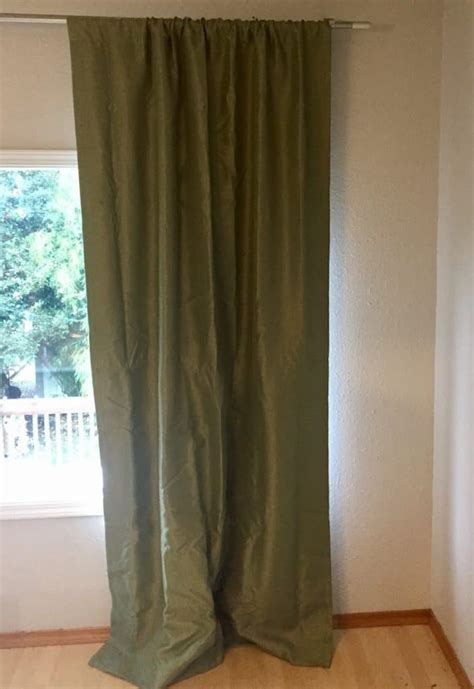 total blackout curtains emery insulated total blackout curtain panel review