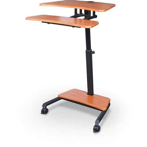 Adjustable Standing Sitting Desk Up Rite Workstation Mobile Adjustable Sit And Stand Desk Sitting Killz