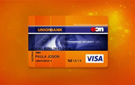 union bank card how to apply for an unionbank eon visa debit card