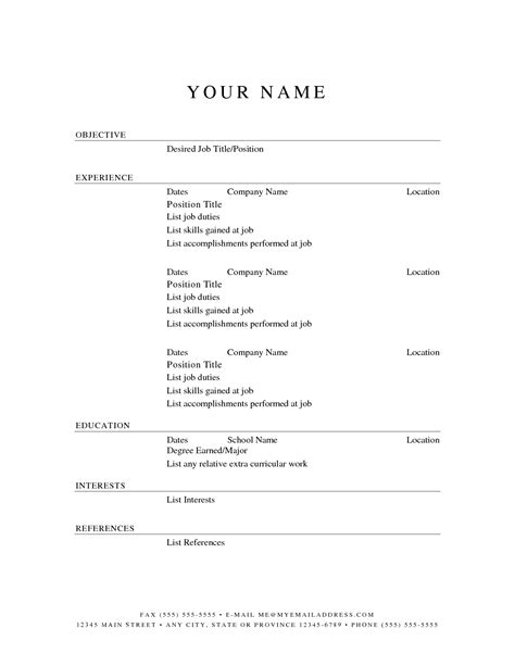 resume builder free template completely free resume builder template resume builder