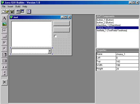 gui design tutorial java java gui builder design frames applets and awt