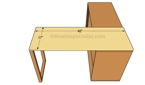 build l shaped desk build l shaped desk office desk plans howtospecialist how