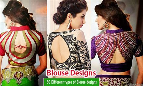 Different Is Beautiful Blouse 50 different types of blouse designs patterns designer