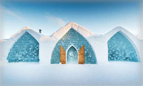 hotel de glace canada canada hotel de glace