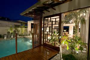 chris clout design tropical resort style modern house in