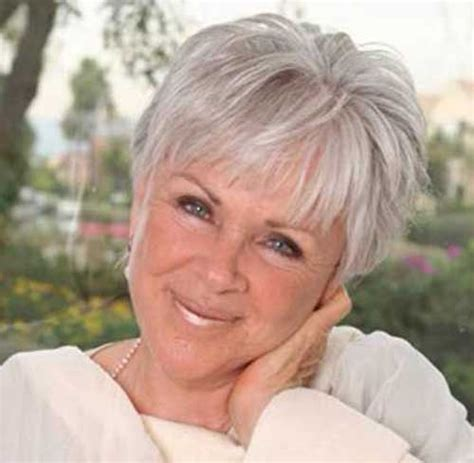 short hairstyles for seniors with grey hair 20 super short hair styles for older women short