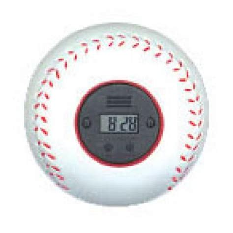 my sports clock bouncing baseball sports alarm clock buy it readygolf golf gifts for